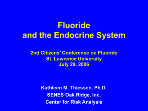 EMRAS - Fluoride Action Network