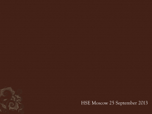 HSE Moscow China 130925