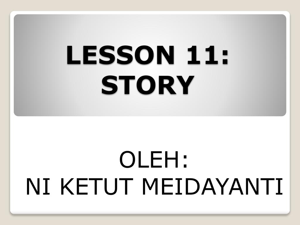 Materi Pembelajaran Bahasa Inggris Kelas 6 Sekolah Dasar