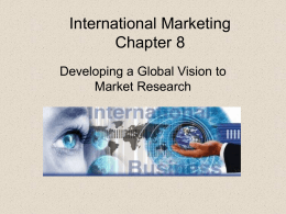 International Marketing Chapter 2