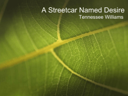 I have to write an essay based on The Streetcar nameds desire. Help?