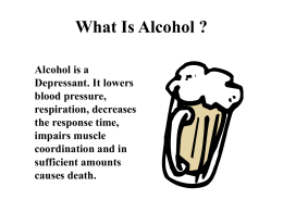 What Is Alcohol ?