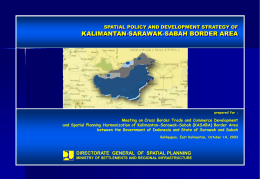 Spatial policy and strategy of KASABA Border
