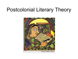 Postcolonialism - My Teacher Pages