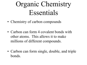 organic chem ppt notes