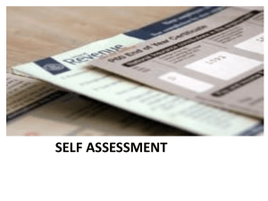 self assessment system!