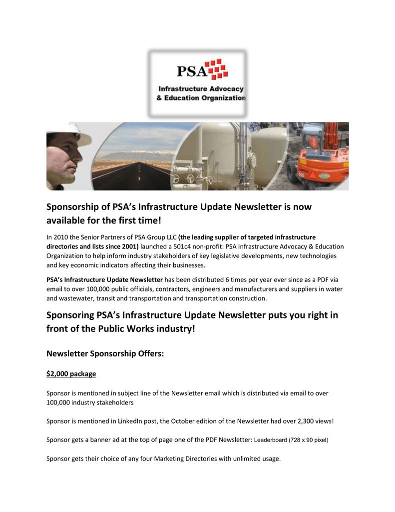 February-2016-Newsletter-Sponsorship-Offer