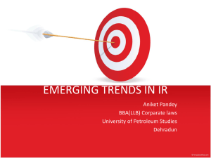 emerging trends in ir