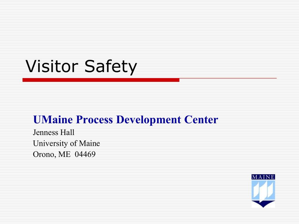 Umaine Campus Map Pdf.Visitor Safety University Of Maine