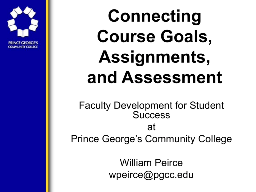 Powerpoint Slides Prince George S Community College