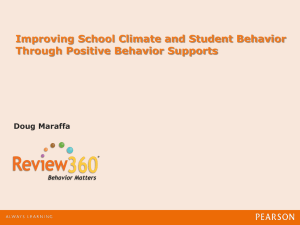 AL CASE ppt Improving School Climate and Student - Ala-CASE