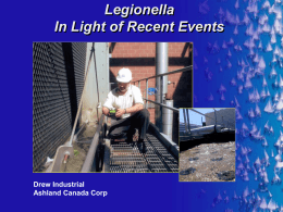 Legionella Risk Management - Cooling Tower Maintenance Inc