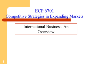 International Business: An Overview
