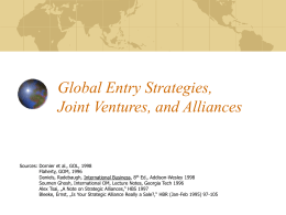 Global Entry Strategies