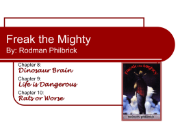 freak the mighty pdf chapter 13