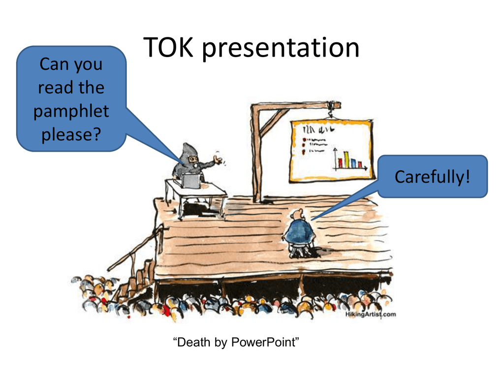 Examples tok presentations TOK Presentation