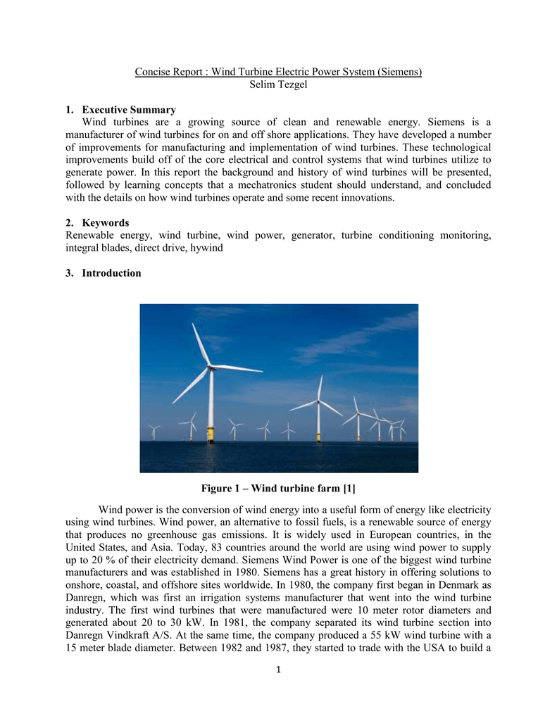 Concise Report Selim Tezgel Diagram Also Wind Power Generator Diagrams On Turbine