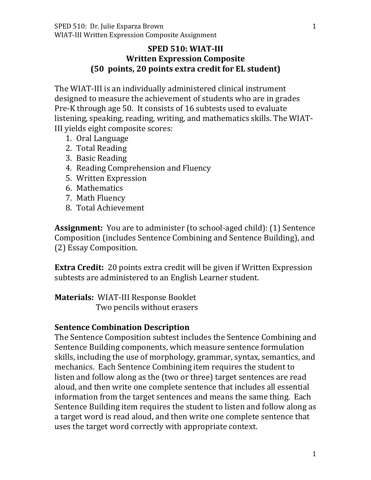 wiat iii essay composition scoring