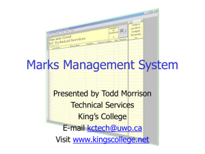 MMS…. Mm-mm Good? - kingscollege.net