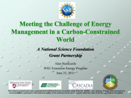 NSF Energy Management Panel B