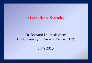 Lecture17 - The University of Texas at Dallas