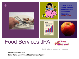 Food Services JPA