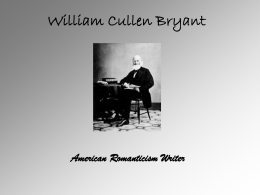 the theme of death in thanatopsis by william cullen bryant Thanatopsis poem by william cullen bryant  death teach us  that fact is a theme of william cullen bryant's thanatopsis but death—and.