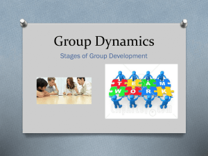 3. Stages of Group Development