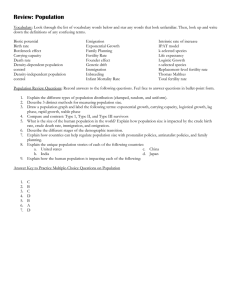 2- Population Review Document