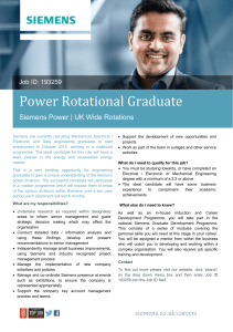 Power Rotational Graduate