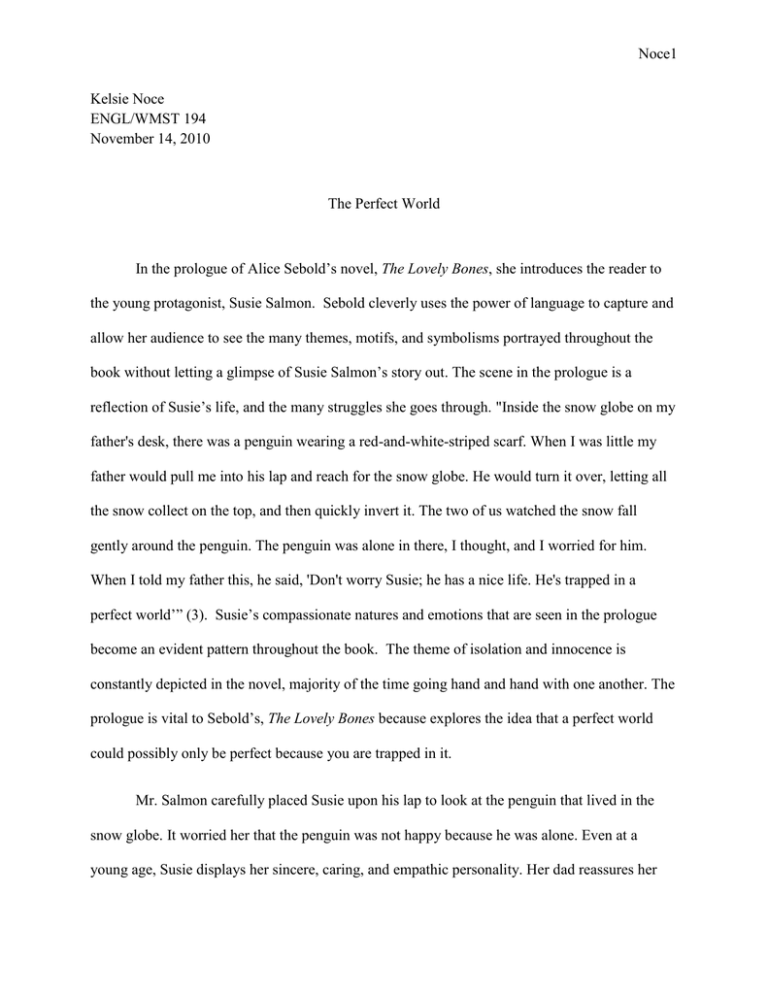 The lovely bones book report essays free essays on prop 8