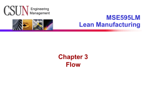 Lean Thinking Chapter 3