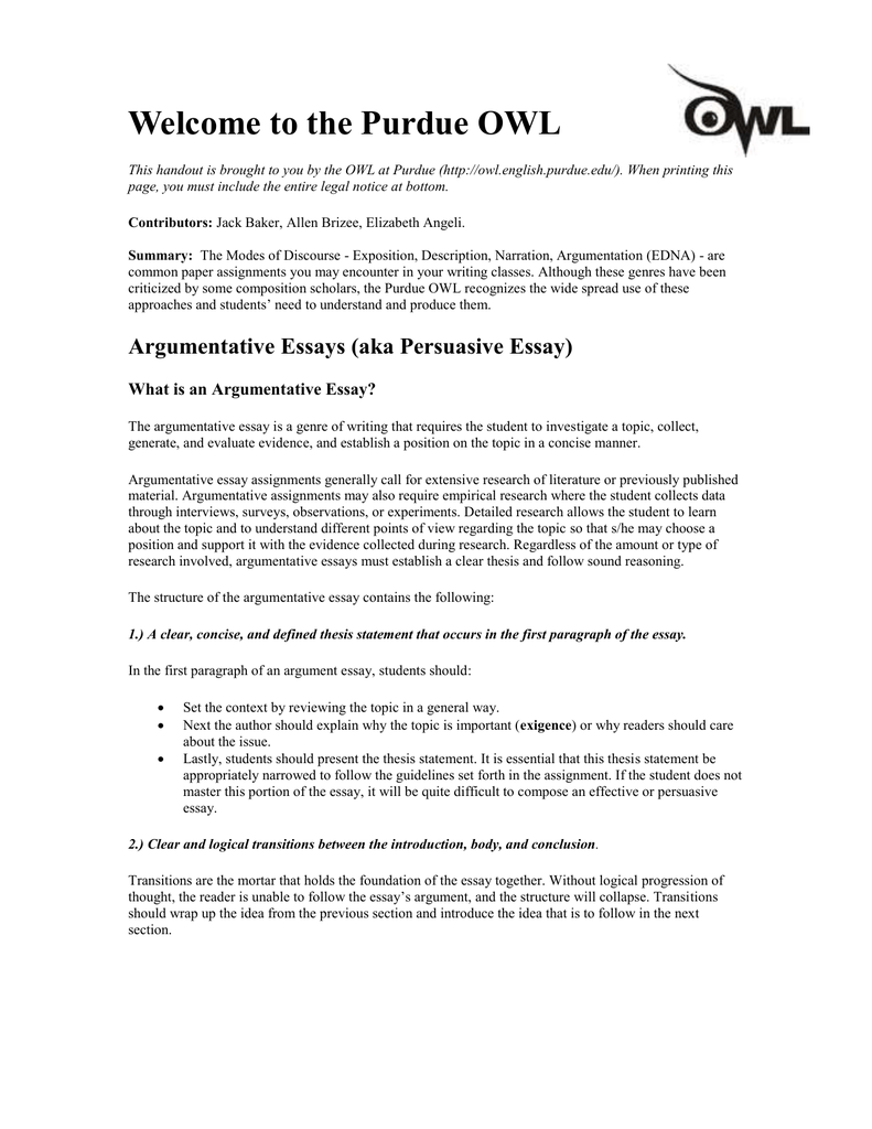 transitions for argumentative essays