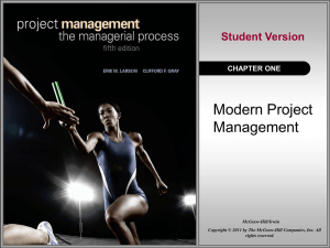 Project Management 5e