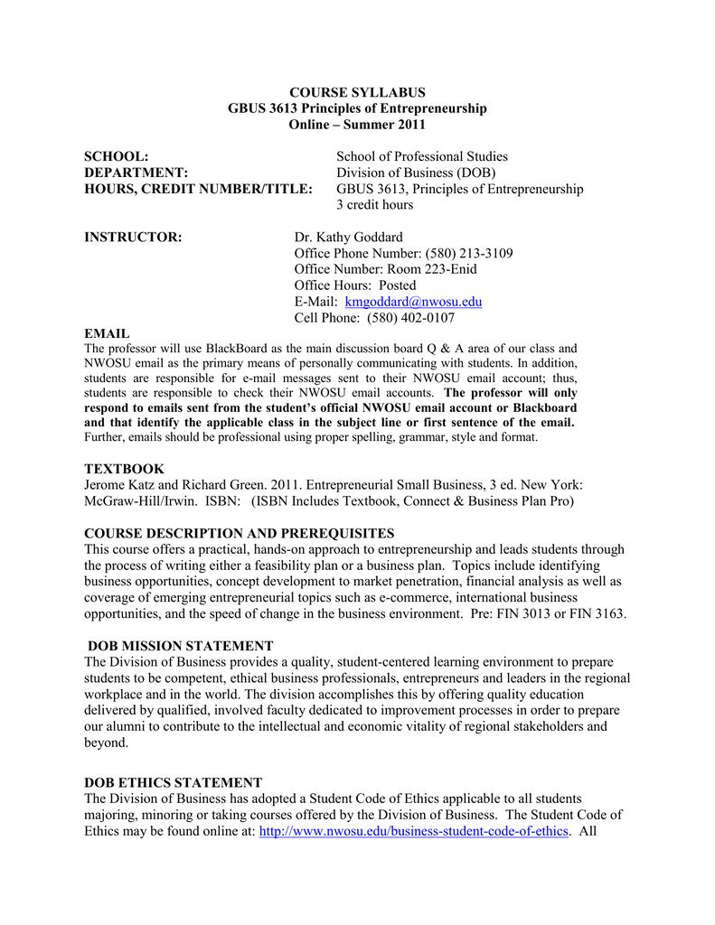 gbus personal statement