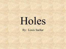 oral book report on holes Resources & favorite links  holes (dra 50) - by: louis sachar wonder  make a pizza pie book report project for each book you read, create a pizza pie.