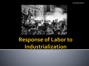 Labor Unions Notes