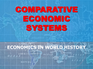 World Economic Systems Review