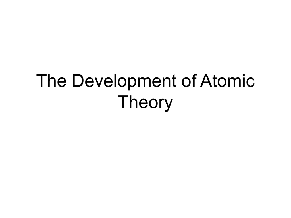 The development of atomic theory gamestrikefo Image collections