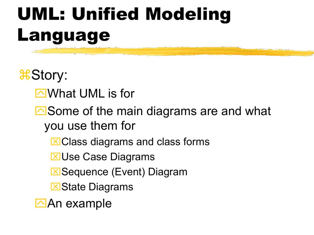 Uml Statechart Diagram Example