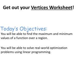 linear programming word problems.doc - Algebra II Worksheet Linear ...
