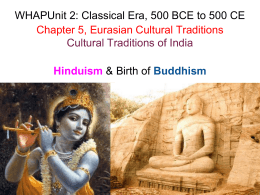 WHAP-CH-5-INDIA-CULTURAL-TRADITIONS