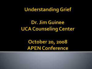 Understanding Grief - Counseling Center Village