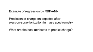 predicting peptide charge