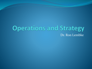 OM & Strategy