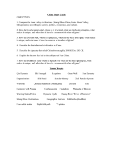 CH3BChina Study Guide 2