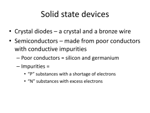 TCOM 308-5 Solid state devices