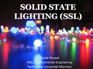 SOLID STATE LIGHTING