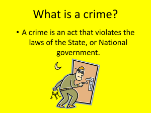 What is a Crime PP