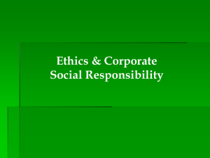 Chapter 05 Managerial Ethics and Corporate Social - Hale